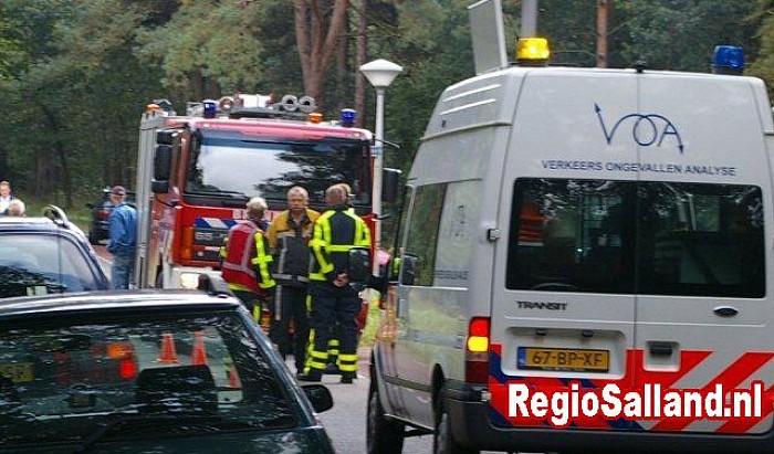 Gewonden bij ongeval aan de Vennenbergweg in Lemelerveld