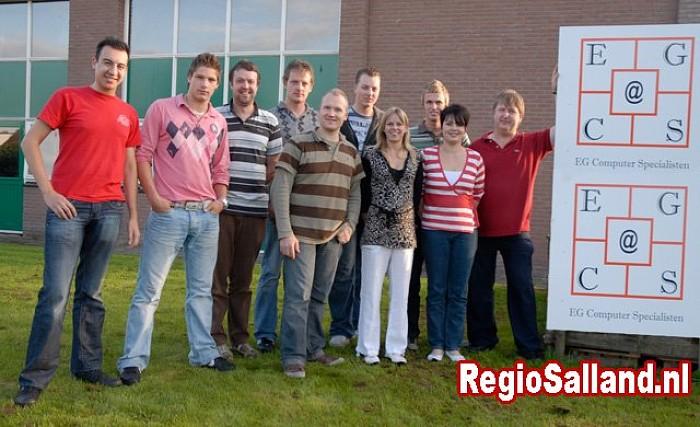 Nieuw bedrijfspand EGCS wordt geopend in Lemelerveld - Foto: Eigen foto