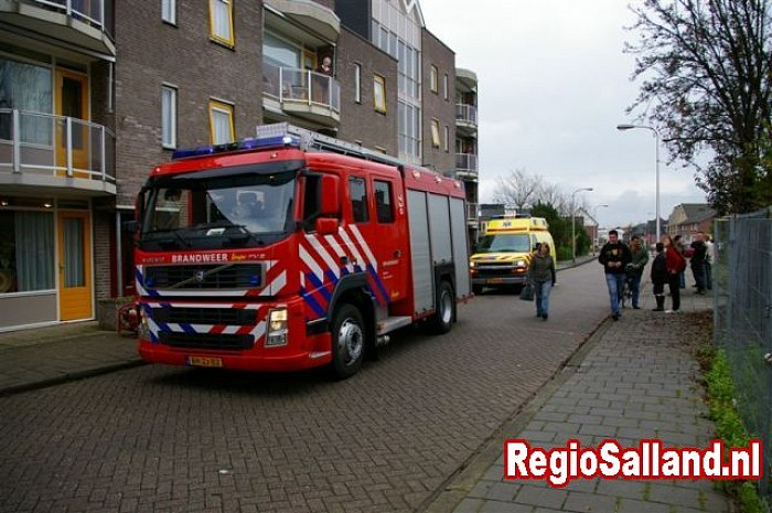 Binnenbrand in Raalte - Foto: Frank Jansen of Lorkeers