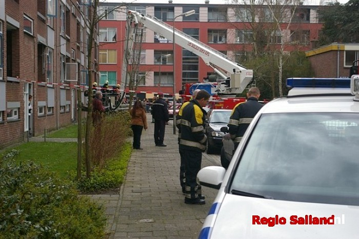 Brand aan de Ansfriedstraat in Deventer - Foto: Jasper Hutten