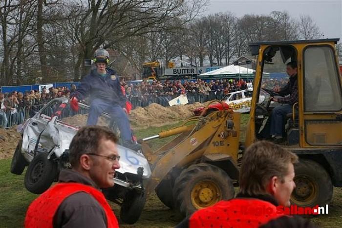 update: Record aantal deelnemers bij Autorodeo Boerhaar - Foto: Jasper Hutten