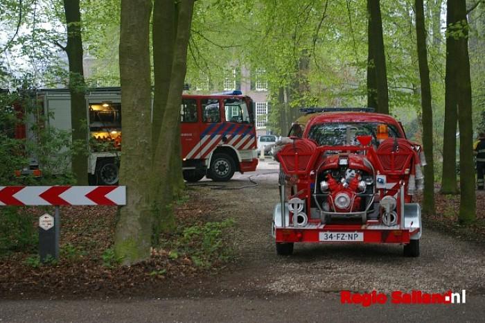 Brandgerucht aan de Diepenveenseweg te Olst - Foto: Jasper Hutten