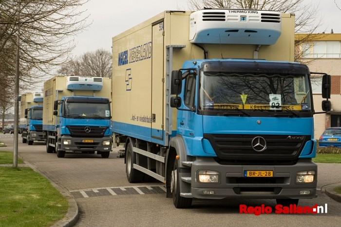 Truckersdag voor cliënten ZoZijn - Foto: Andy Hutten