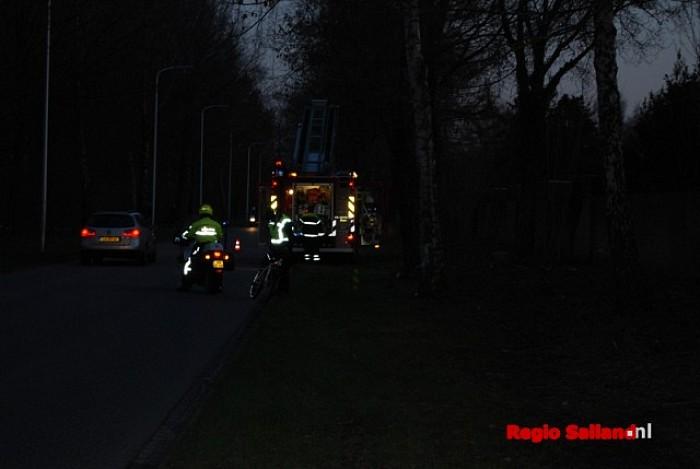Schoorsteenbrand Populierenplein bleek mee te vallen - Foto: Robin Duteweerd