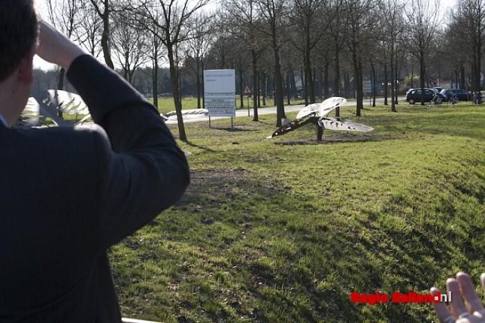 Klavers officieel 'onthuld' aan rand van Heino - Foto: Pim Haarsma