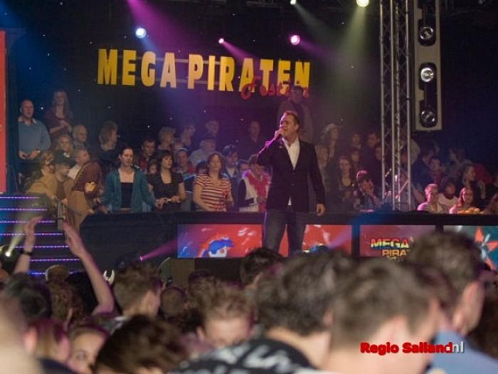 Toch nog druk bij Mega Piratenfestijn in Lemelerveld - Foto: Andy Hutten