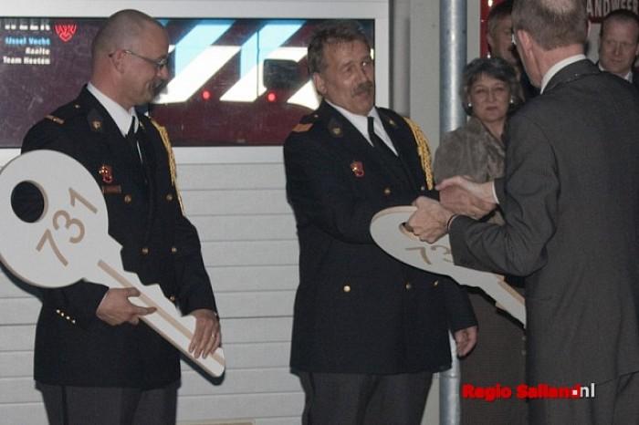 Nieuwe brandweerwagens officieel overhandigd - Foto: Pim Haarsma