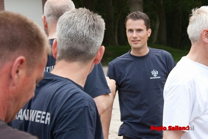 Warmte verzwaart Gouden Laars-wedstrijd van brandweer - Foto: Pim Haarsma