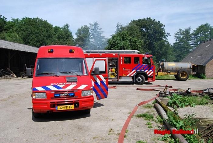 Broei in hooistapel 'T Reelaer laait opnieuw op - Foto: Robin Duteweerd