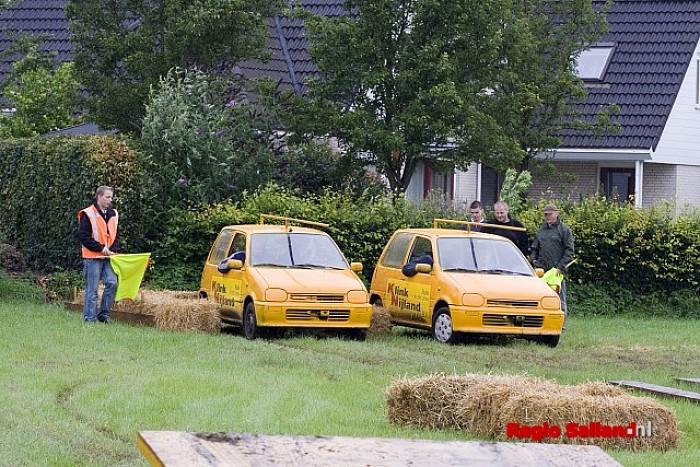 Opkomst autobehendigheidswestrijd viel tegen - Foto: Andy Hutten