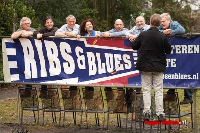 Feestelijke onthulling nieuw logo en huisstijl Ribs&Blues - Foto: Pim Haarsma