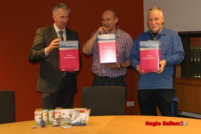 """E.team van start bij project """"Besparen loont!"""" in Raalte - Foto: Gemeente Raalte"""