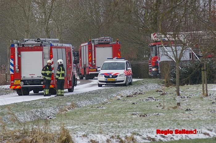 Schoorsteenbrand in Herxen valt mee - Foto: Jasper Hutten
