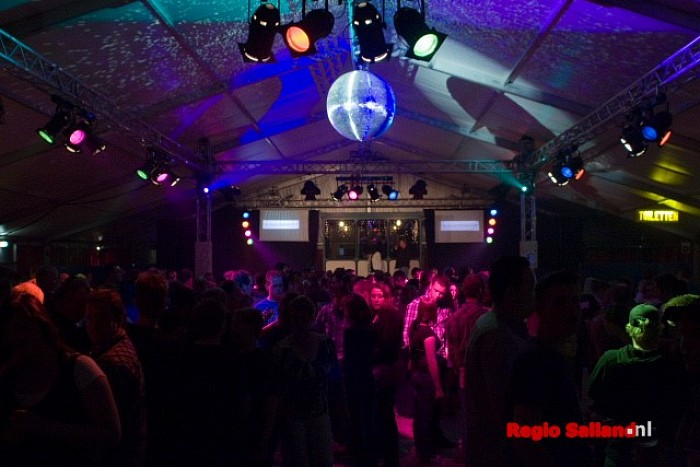 Volle bak bij Sallands piratenfestijn - Foto: Andy Hutten