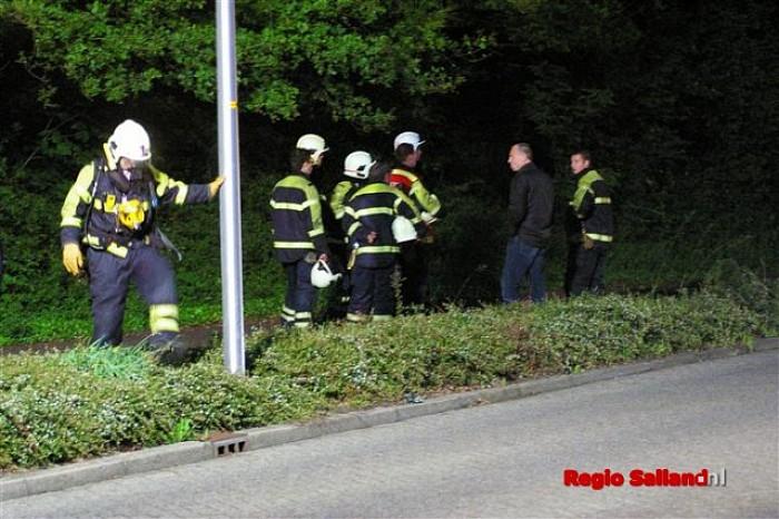 Kleine gaslekkage snel verholpen in Raalte - Foto: Jasper Hutten