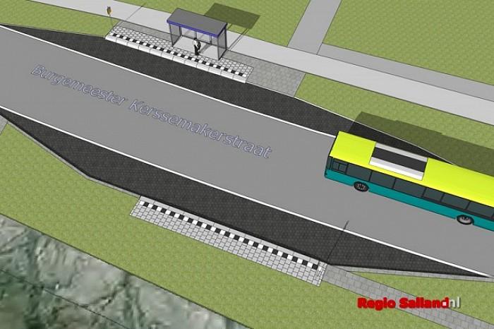 Gemeente Raalte gaat 22 bushaltes verbeteren - Foto: Gemeente Raalte