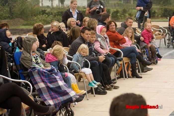 Gezinnen in de watten op Care4Kids Event Heino - Foto: Pim Haarsma