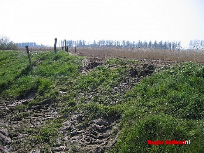 Waterschap gaat dijken weer controleren in Salland - Foto: Onbekend