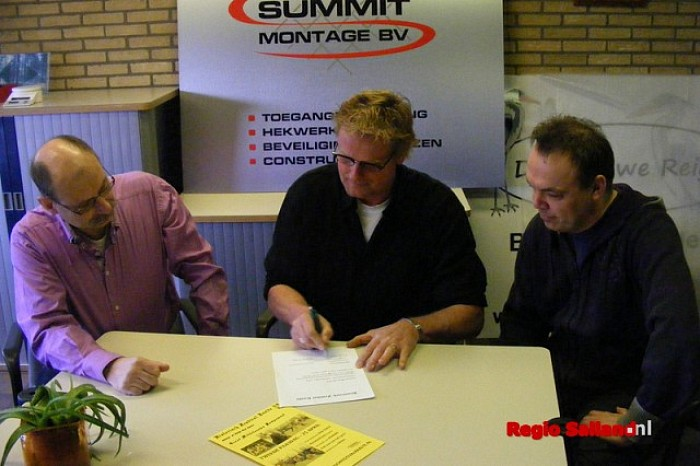 Summit Montage hoofdsponsor Historisch Festival Raalte - Foto: PR
