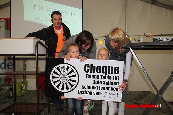 Round Table Football Event Raalte levert 32.500 euro op - Foto: Eigen foto