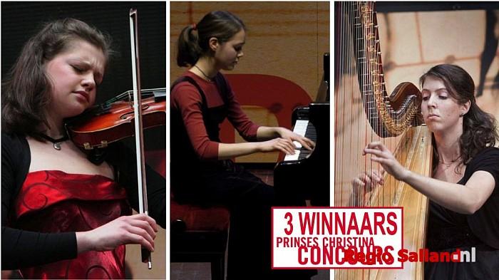 Winnaars Prinses Christina Concours naar Wesepe - Foto: Eigen foto
