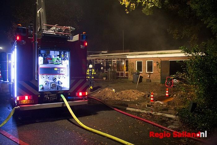 Grote brand bij restaurant Dalmshoeve in Dalmsholte - Foto: Pim Haarsma