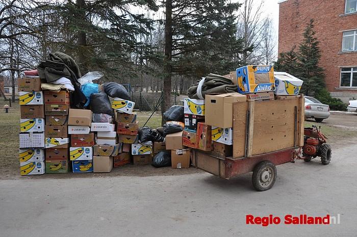 Transport Let's Go van Wijhe naar Letland - Foto: Eigen foto