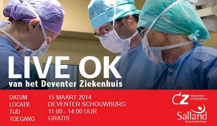 Live meekijken bij operatie in Deventer Ziekenhuis - Foto: PR
