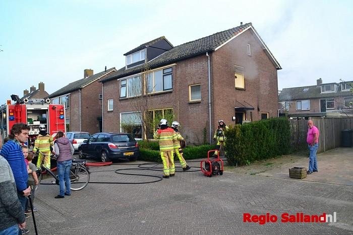 Brand in woning aan de Enkweg in Olst - Foto: Jasper Hutten