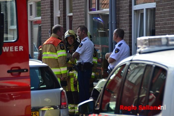 Zolderbrand aan de Diezerhoven in Zwolle - Foto: Jasper Hutten