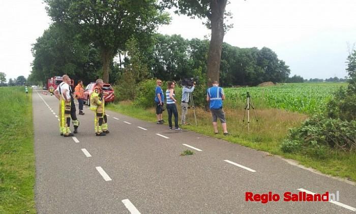 Zweefvliegtuig gecrashed in maïsveld bij Dalmsholte - Foto: Marco Roseboom