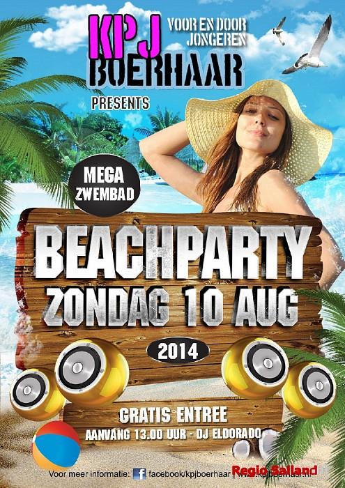 Beachparty bij de KPJ Boerhaar in Wijhe - Foto: PR
