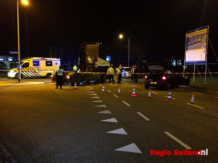 Door vrachtwagen aangereden man uit Raalte overleden - Foto: Nick Jonkman