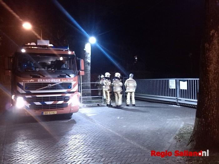 Melding buitenbrand: Vuurkorf met brandafval - Foto: Redactie RS