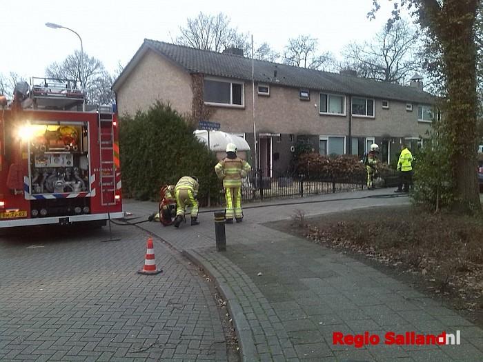 Brandend koffiezetapparaat van der Wijckstraat snel geblust - Foto: Redactie RS