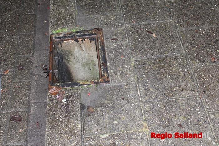 Vernielingen door illegaal vuurwerk in Raalte-Noord - Foto: PR