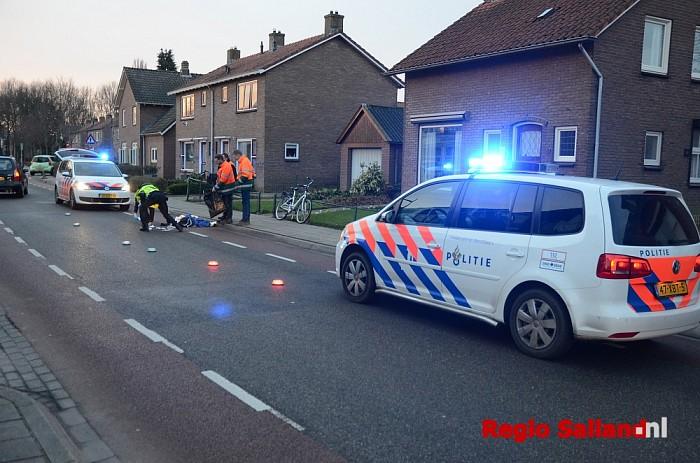 Vrouw en kind gewond bij ongeluk in Olst, traumaheli ingezet - Foto: Leo van 't Hul