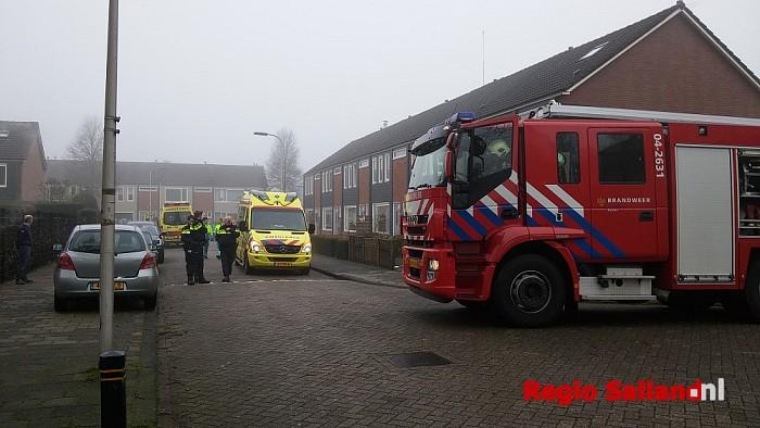 Grote brand in flat Lijsterbesstraat Raalte - Foto: Jasper Hutten