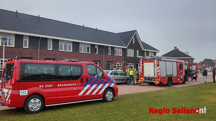 Brandweer rukt uit voor pan op het vuur in Wijhe - Foto: Jasper Hutten