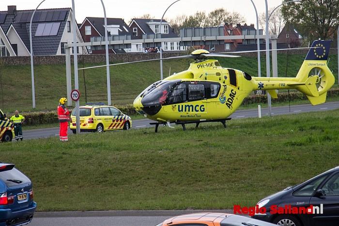 Inzet Lifeliner 4 bij incident in Zwolle - Foto: Pim Haarsma