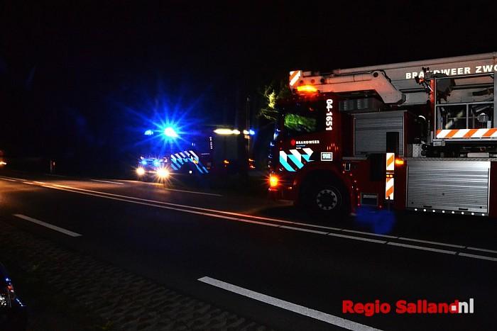 Brandweer rukt uit voor vlam in pan in Wijhe