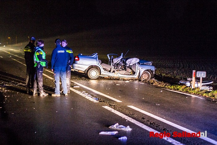Ernstig ongeval op N348 bij Diepenveen - Foto: Pim Haarsma