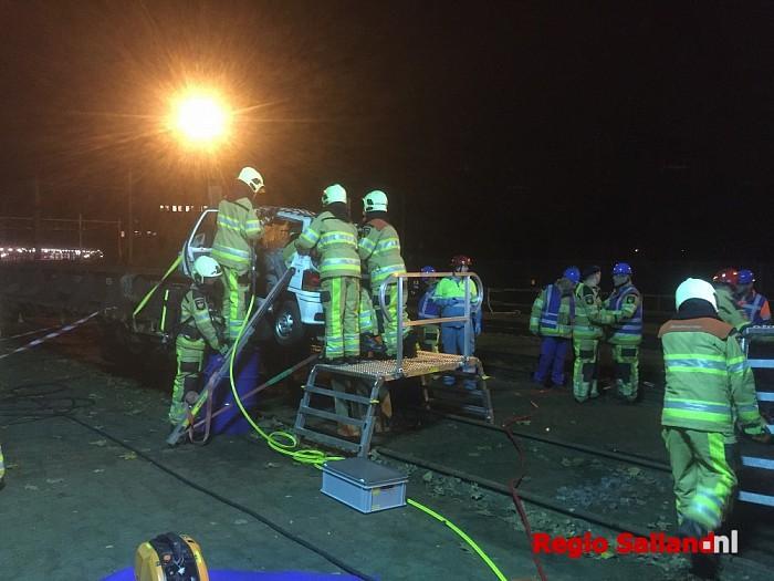Brandweerteams oefenen treinongeval in Deventer - Foto: Nick Jonkman