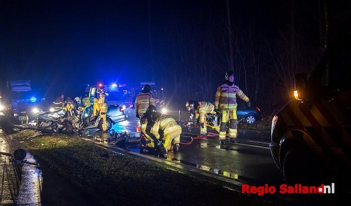 Ernstig ongeval op N348 bij Diepenveen - Foto: Jasper Hutten