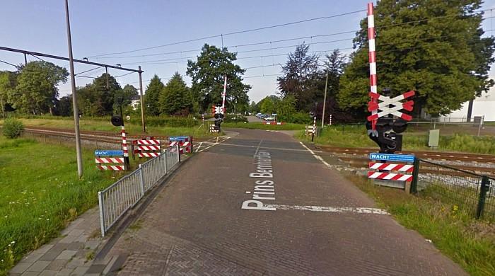 Geen treinverkeer tussen Zwolle-Olst na ongeval - Foto: Google Maps