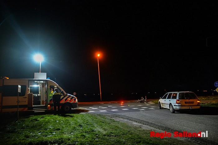 Fietser gewond na aanrijding met auto in Wijhe