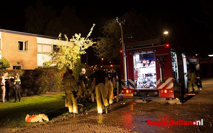 Woningbrand aan de Prinses Marijkestraat in Zwolle - Foto: Jasper Hutten