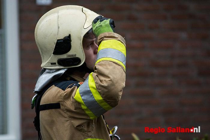 Uil vast in schoorsteenkanaal in Mariënheem - Foto: Jasper Hutten