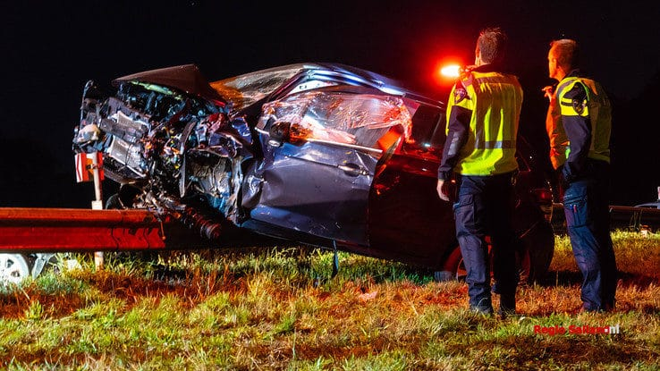 Drie gewonden bij ernstig ongeval bij Mariënheem - Foto: Jasper Hutten
