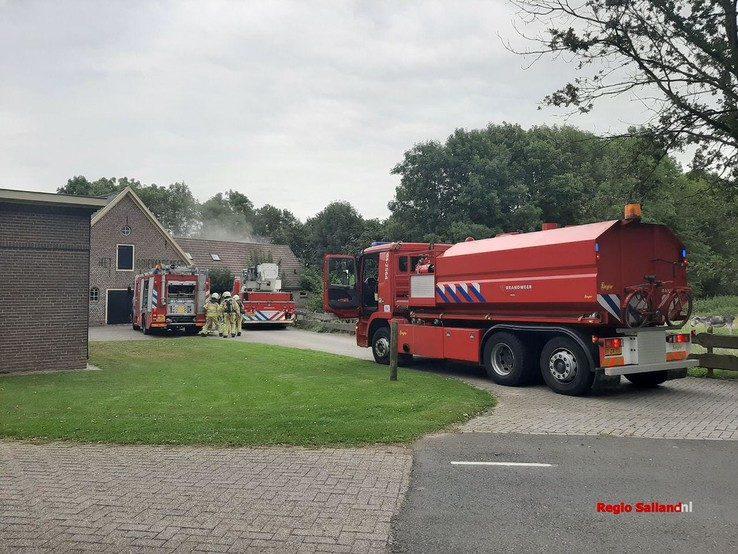 Brand bij Het Ooievaarsnest in Wijhe - Foto: Jasper Hutten
